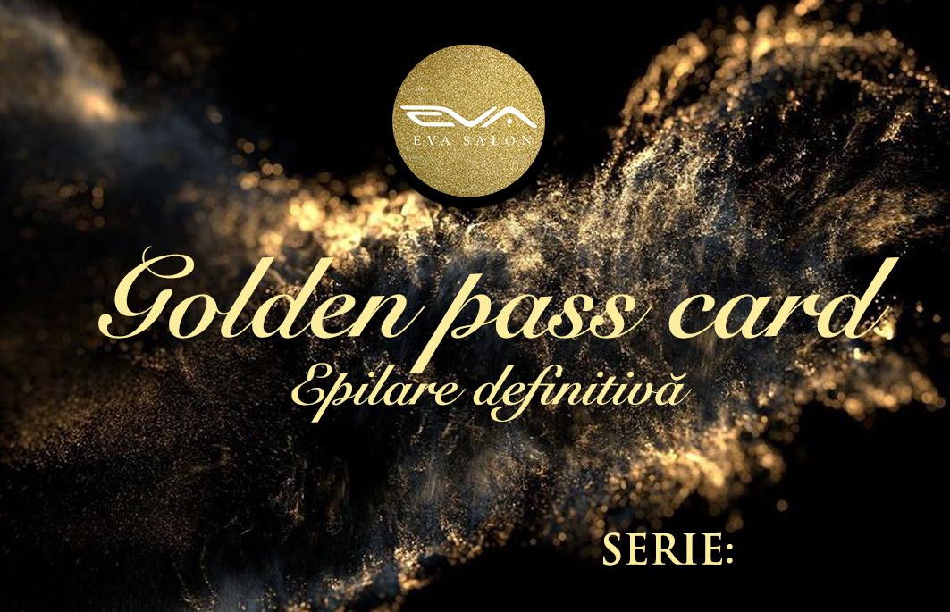 GF GOLDEN PASS CARD